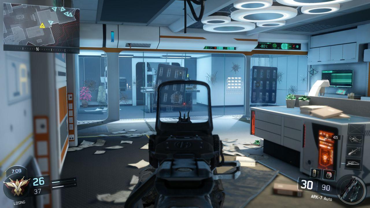 Call of Duty Black Ops 3 beta: Interfaccia utente e matchmaking migliorati