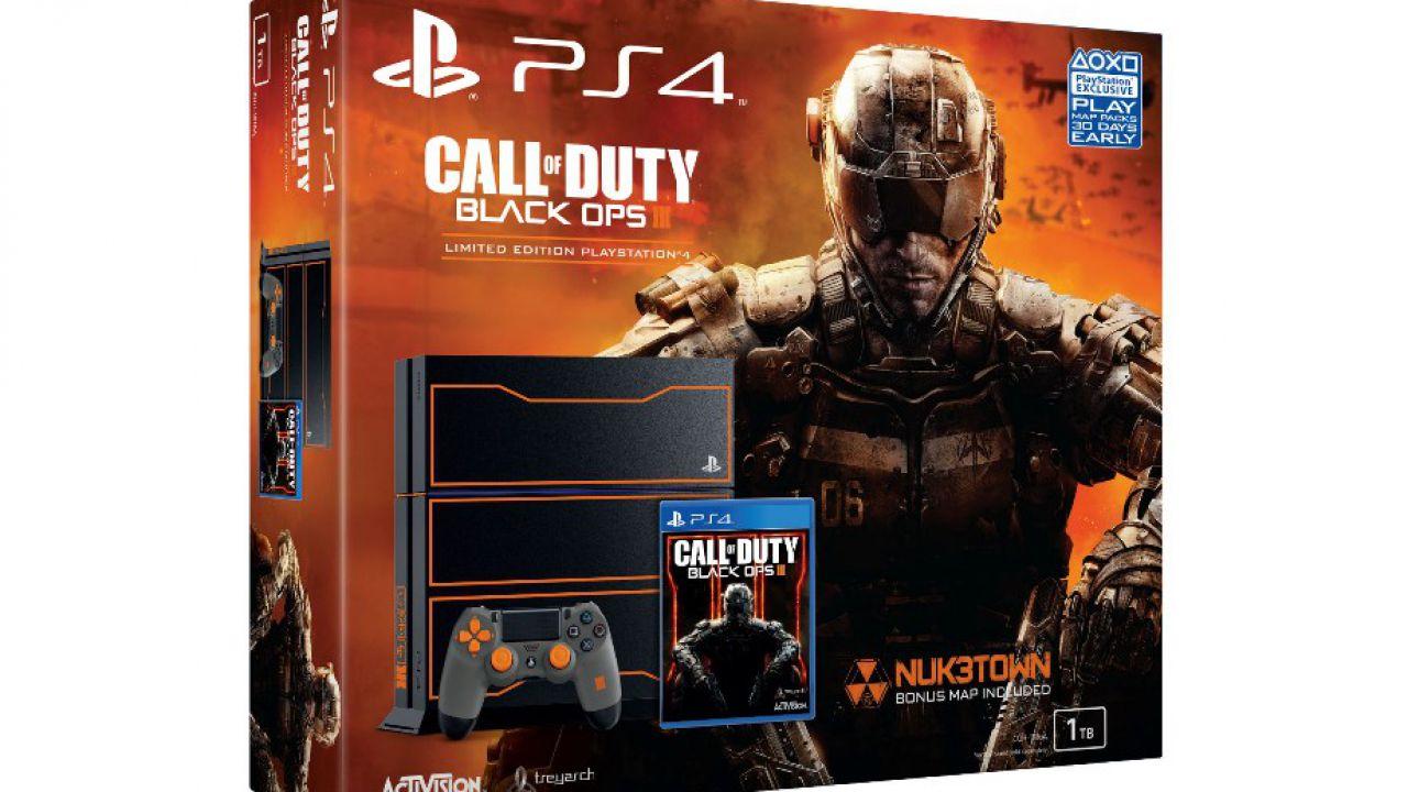 Call of Duty Black Ops 3: bundle in edizione limitata per Ps4