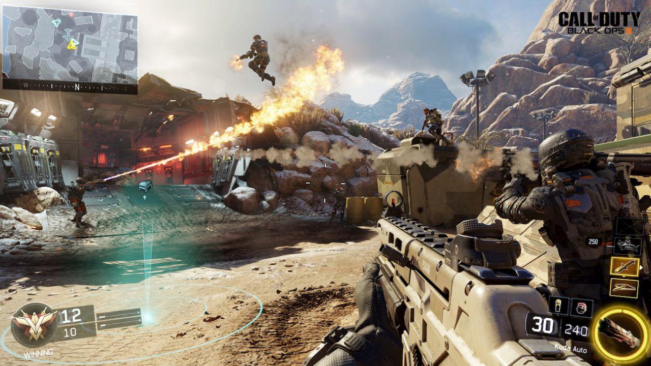 Call of Duty Black Ops 3: dimensioni della day one patch