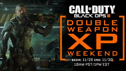 Call of Duty Black Ops 3: in arrivo un nuovo weekend di doppi XP