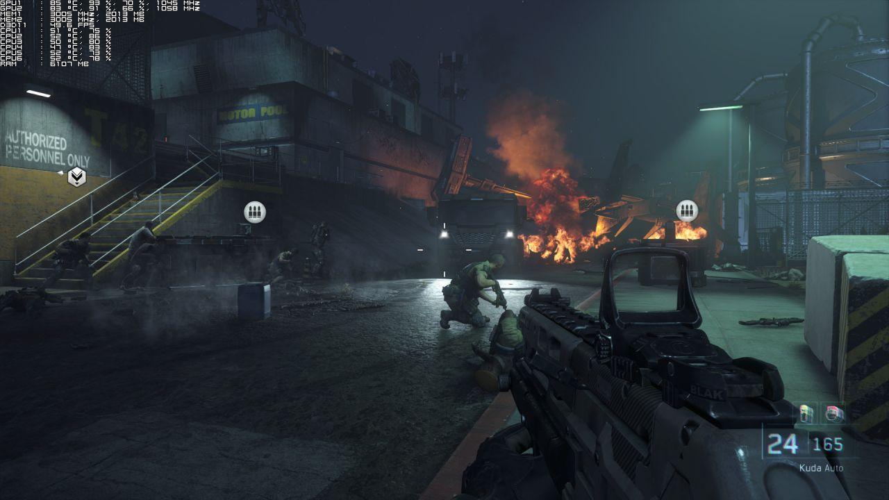Call of Duty Black Ops III: a confronto i settaggi Low e Ultra