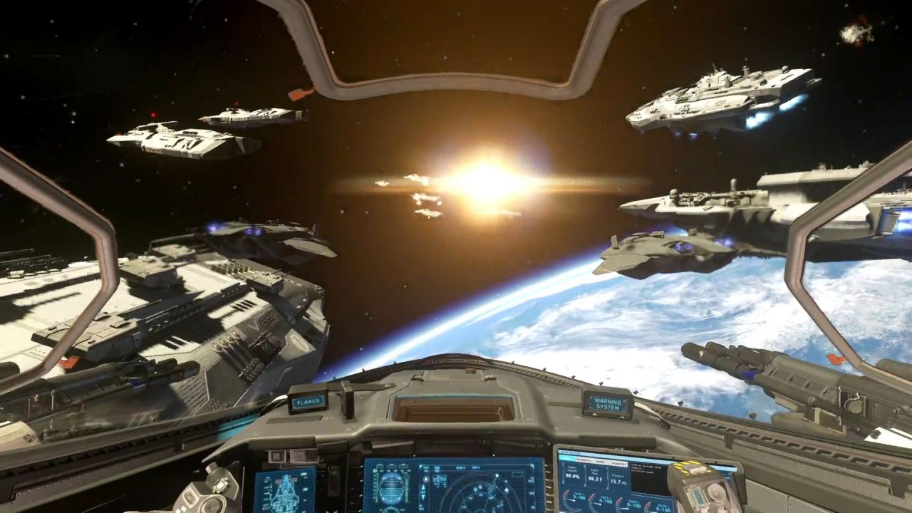 Call of Duty Infinite Warfare: annunciata l'Esperienza VR Jackal Assault su PS4