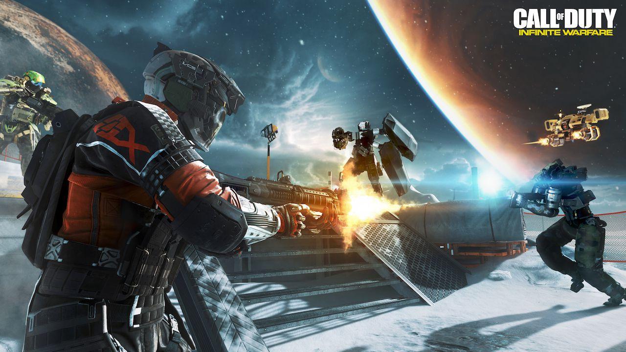 Call of Duty Infinite Warfare: un glitch della beta permette di volare