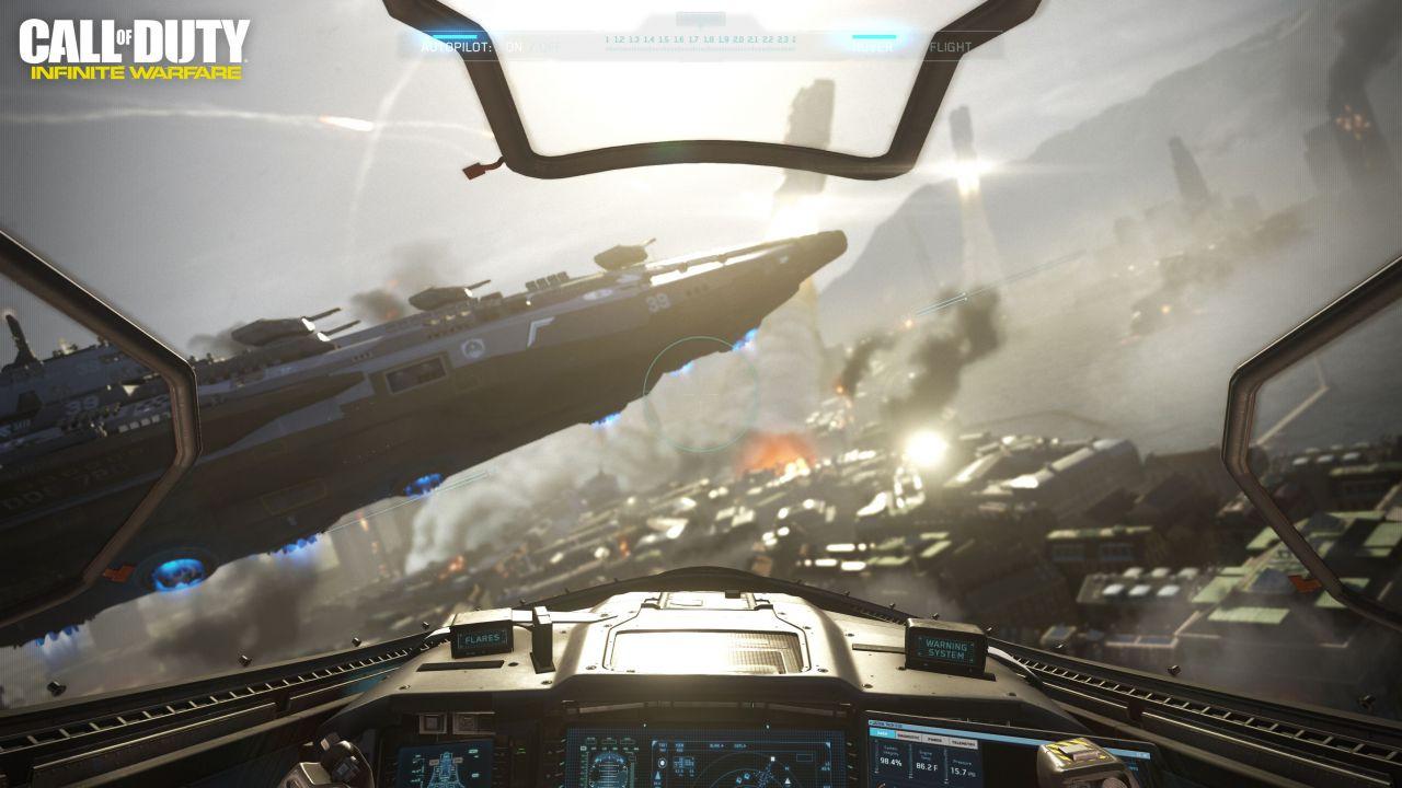 Call of Duty Infinite Warfare: svelati nuovi dettagli