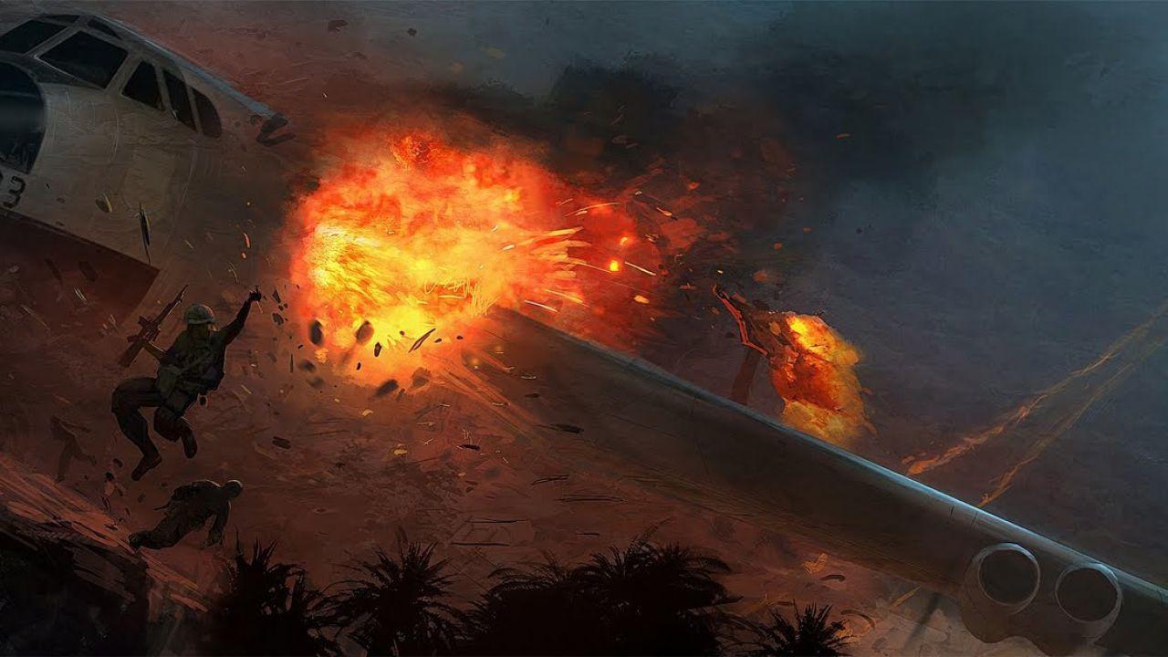 Call of Duty Vietnam: concept art del gioco