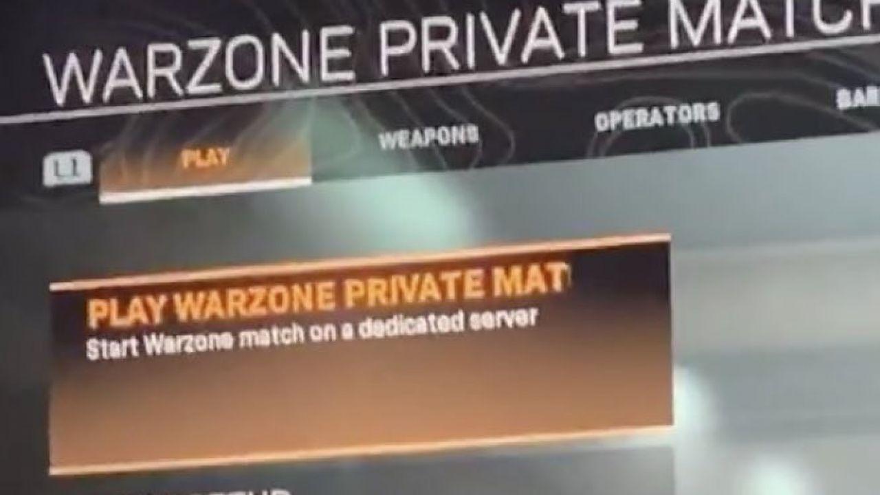 Call of Duty Warzone: l'arrivo delle Partite Private sembra essere dietro l'angolo