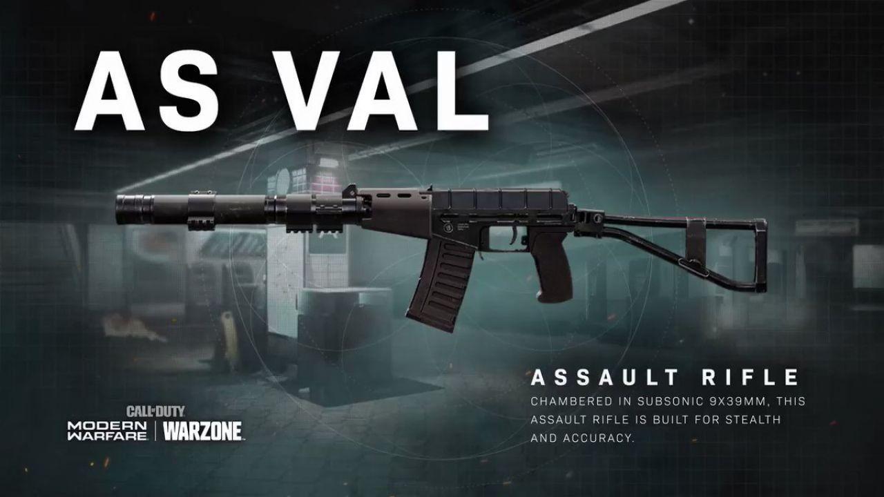 Call of Duty Warzone: AS VAL e SP-R 2, guida alle nuove armi della stagione 6