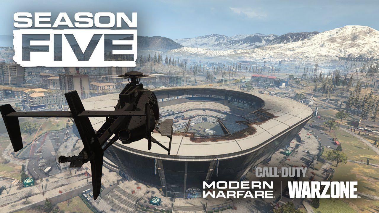 Call of Duty Warzone Stagione 5, le novità della mappa: stadio, stazione e treno merci