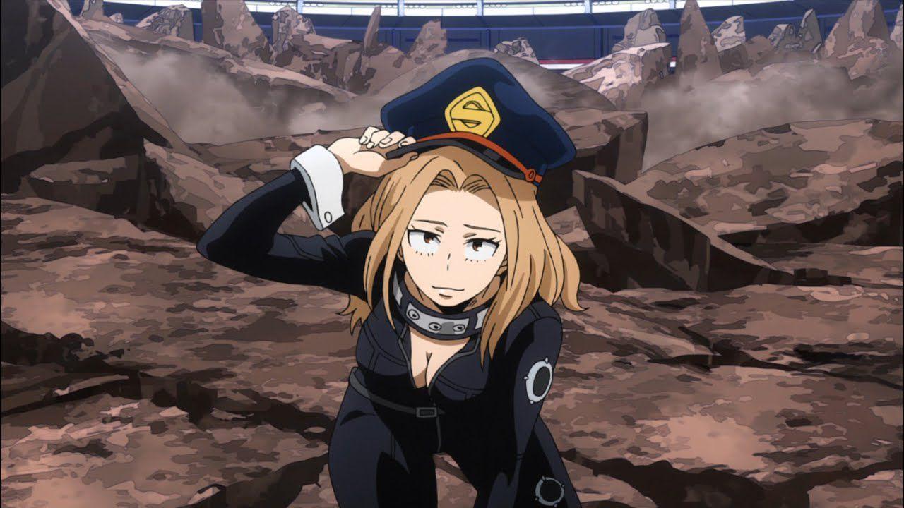 Camie Utsushimi adulta e sexy nel cosplay a tema My Hero Academia
