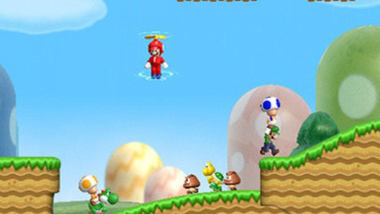 Capcom annuncia una cabinato arcade dedicato a New Super Mario Bros Wii