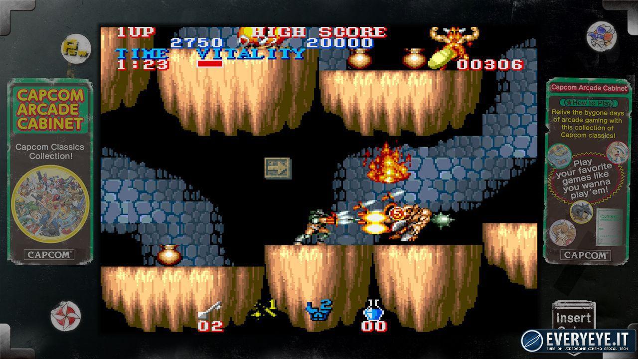 Capcom Arcade Cabinet: Retro Game Collection confermata in Europa