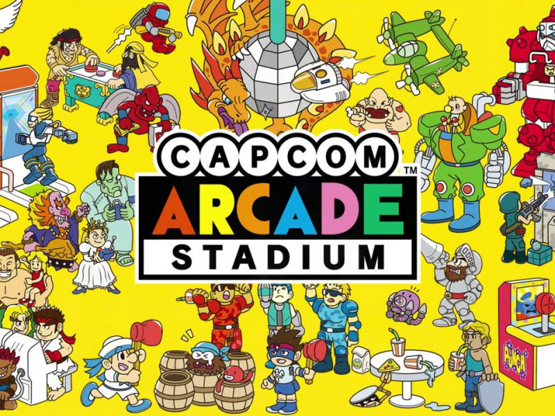 Capcom Arcade Stadium for free from today in preview on Nintendo Switch