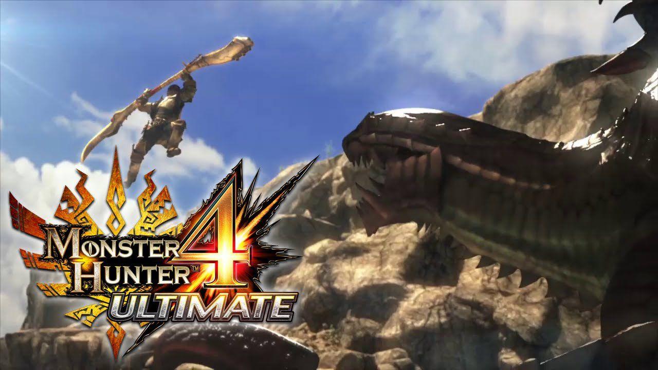 Capcom ha distribuito 3.4 milioni di copie di Monster Hunter 4 Ultimate