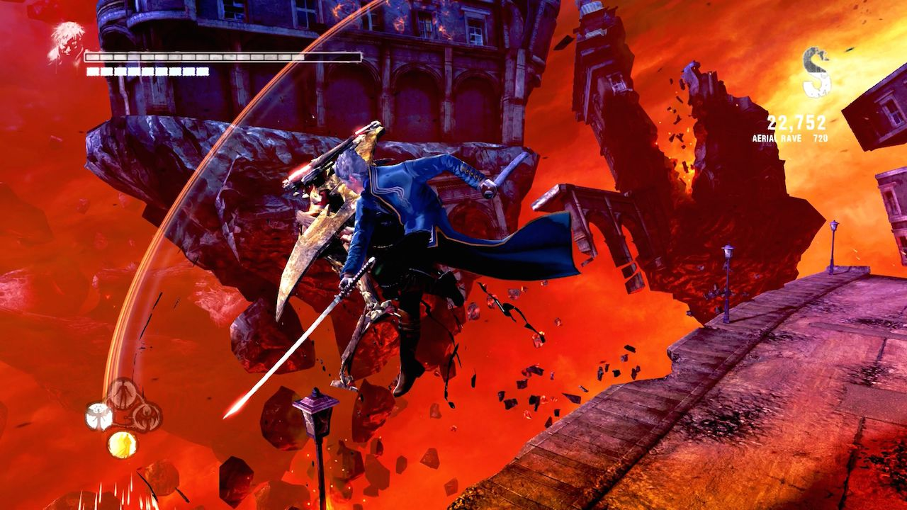 Capcom rilascia Vergil's Downfall