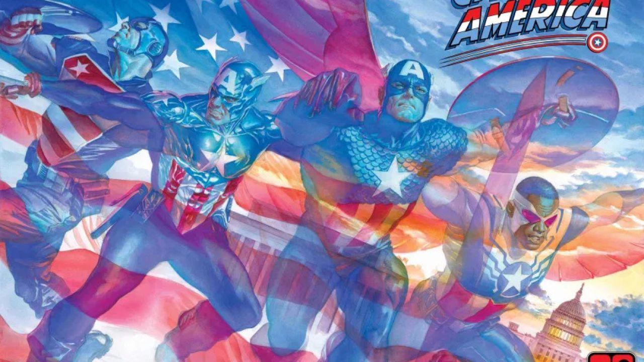 Capitan America: Marvel Comics presenta la miniserie Gli Stati Uniti di Capitan America