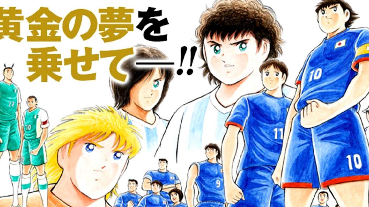 Capitan Tsubasa: Holly & Benji, gli auguri dell'autore in una splendida illustrazione