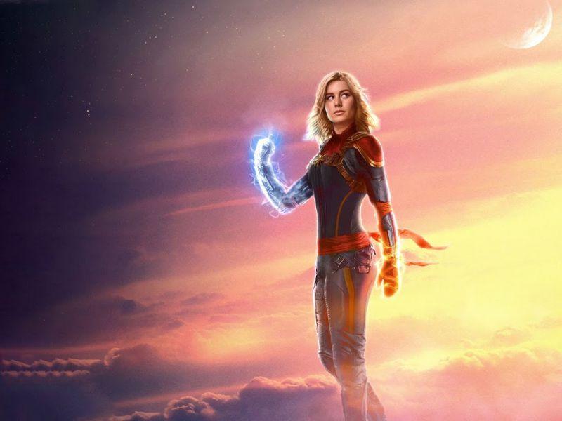 Captain Marvel, Brie Larson supporta via social la ginnasta olimpica Laurie Hernandez