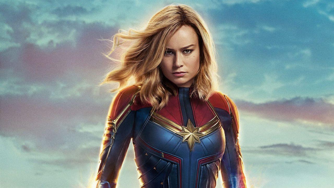 Captain Marvel: un concept art iniziale celebrava una nota serie a fumetti