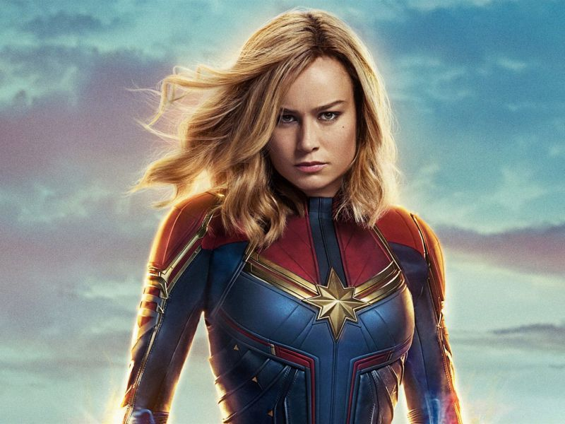 Captain Marvel ha sorpassato altri due film nella classifica all-time del box office