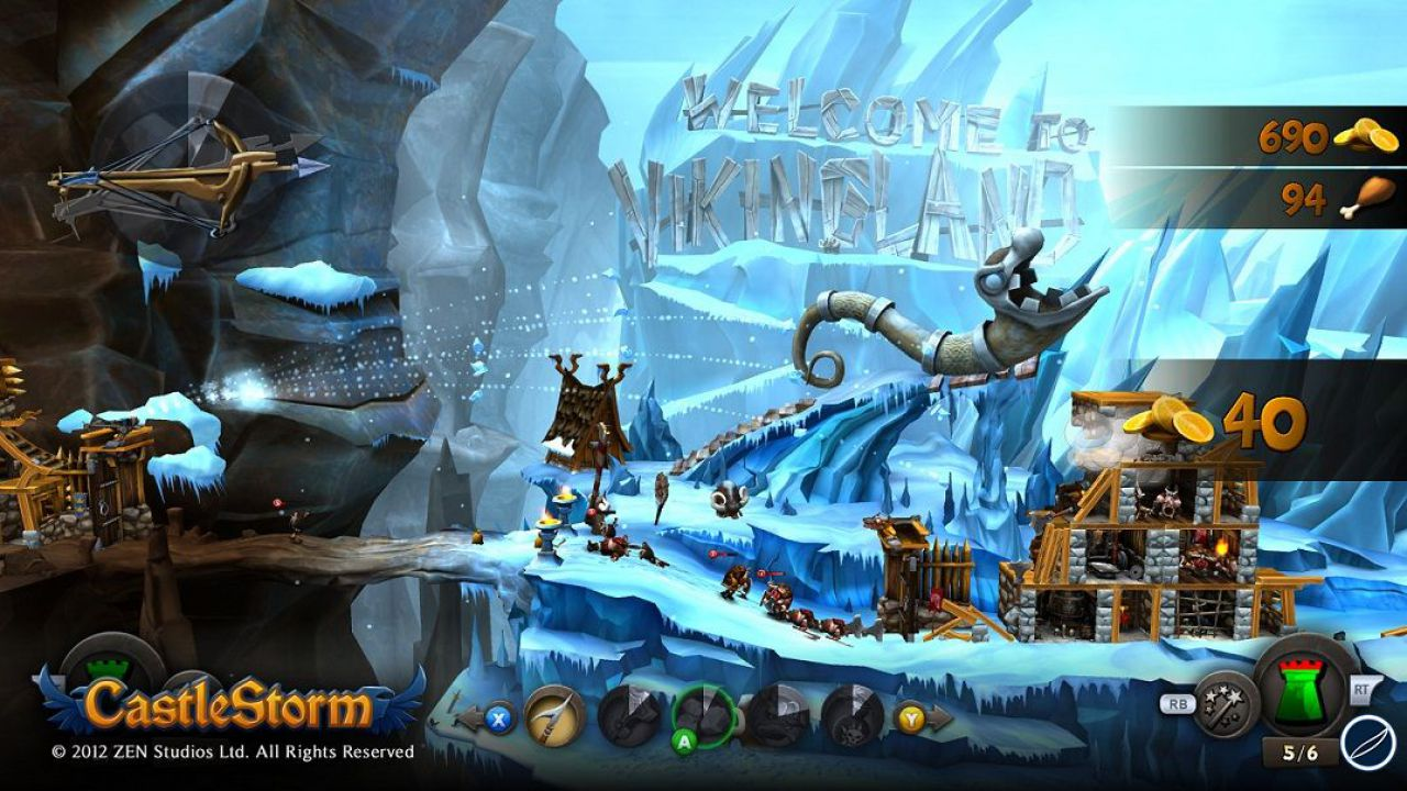 CastleStorm arriverà presto su Wii U