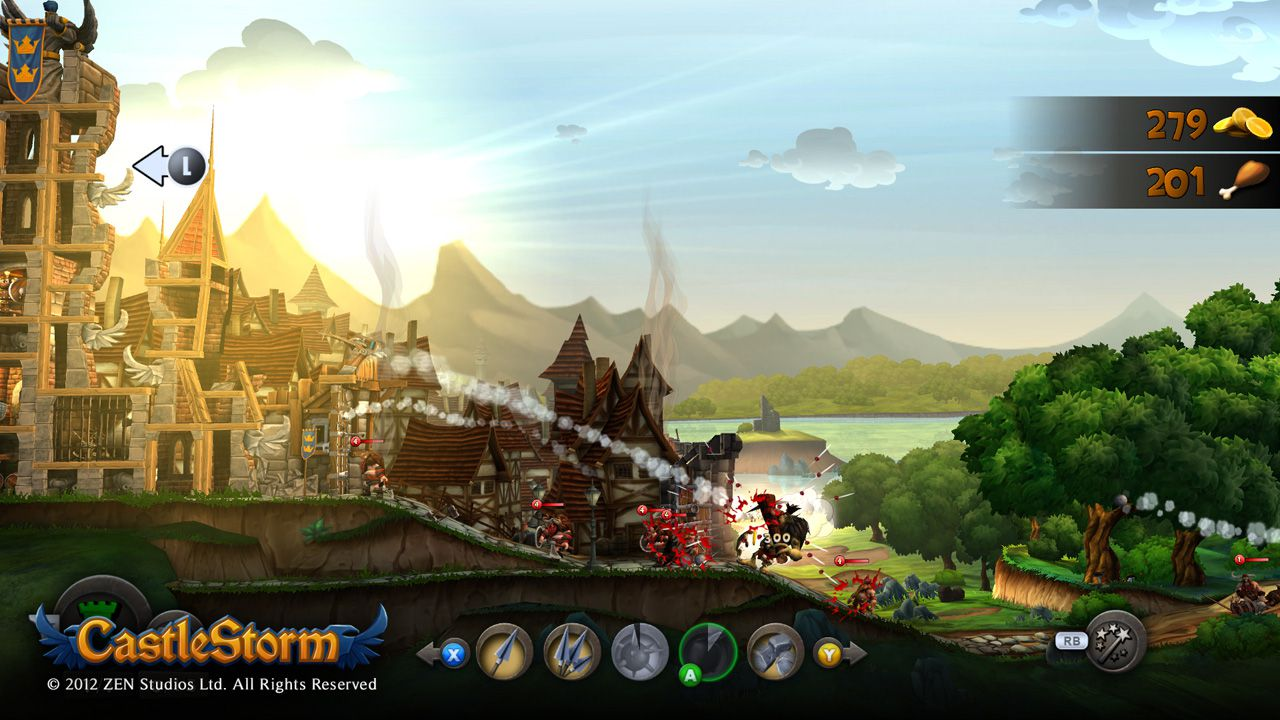 Castlestorm: il DLC 'From Outcast to Savior' disponibile da domani su Wii U