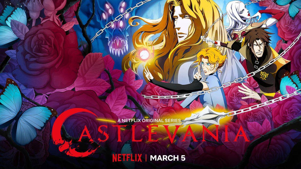 Castlevania 3 è nella top 10 di Netflix, Warren Ellis ringrazia i fan per il supporto