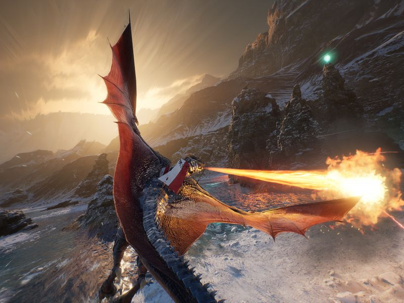 Century Age of Ashes, the dragons take off in the gameplay trailer: the free game in action