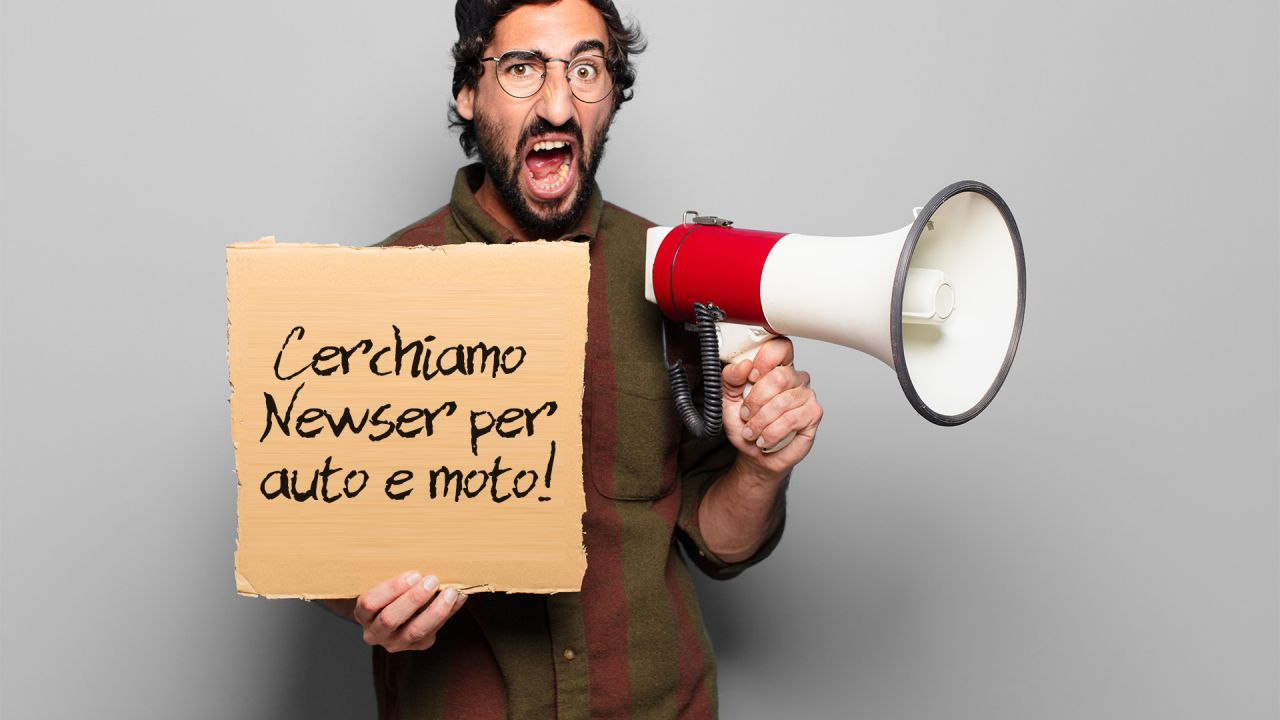 Cerchiamo newser e articolisti interessati al mondo delle auto e della loro tecnologia