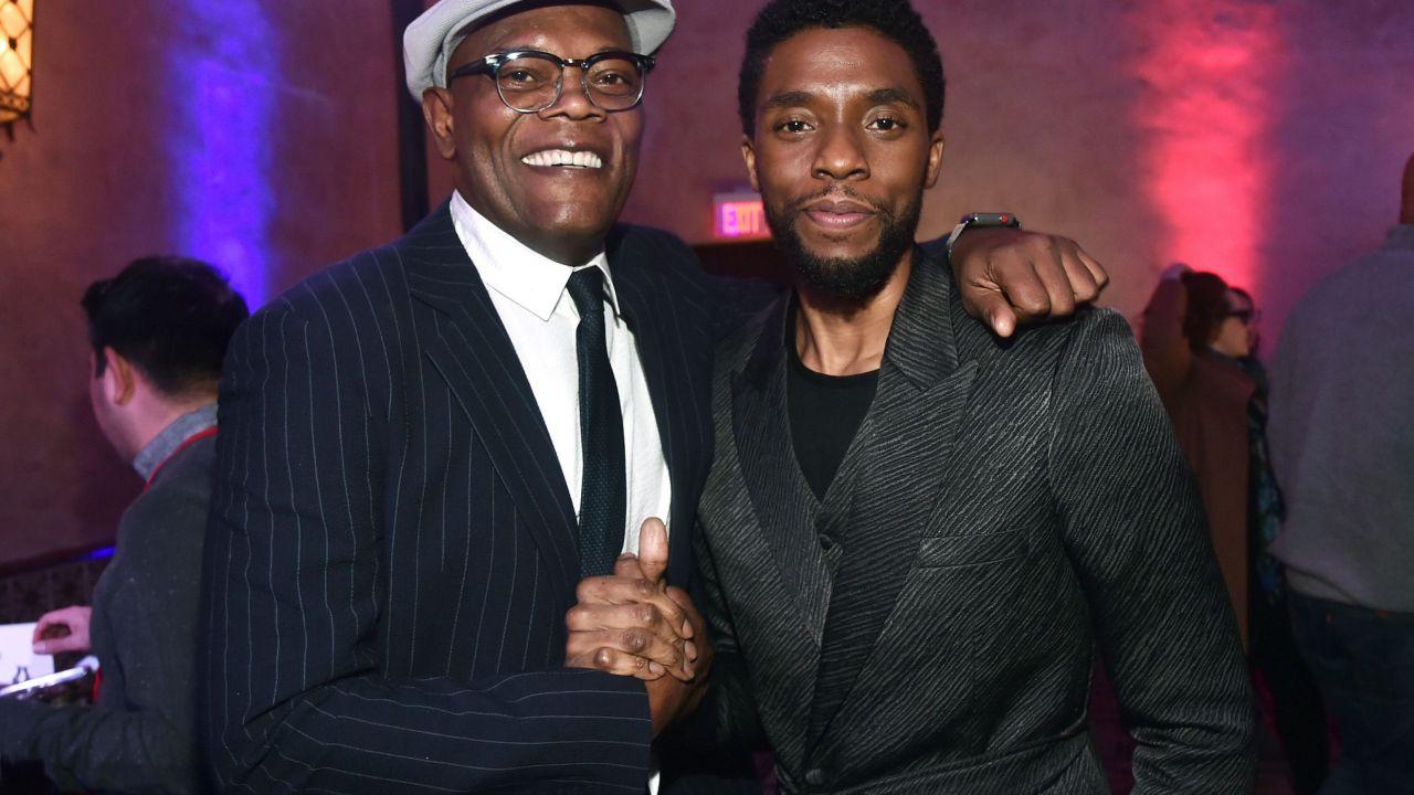 Chadwick Boseman, Samuel L. Jackson confessa:'Dovevamo girare un film insieme'