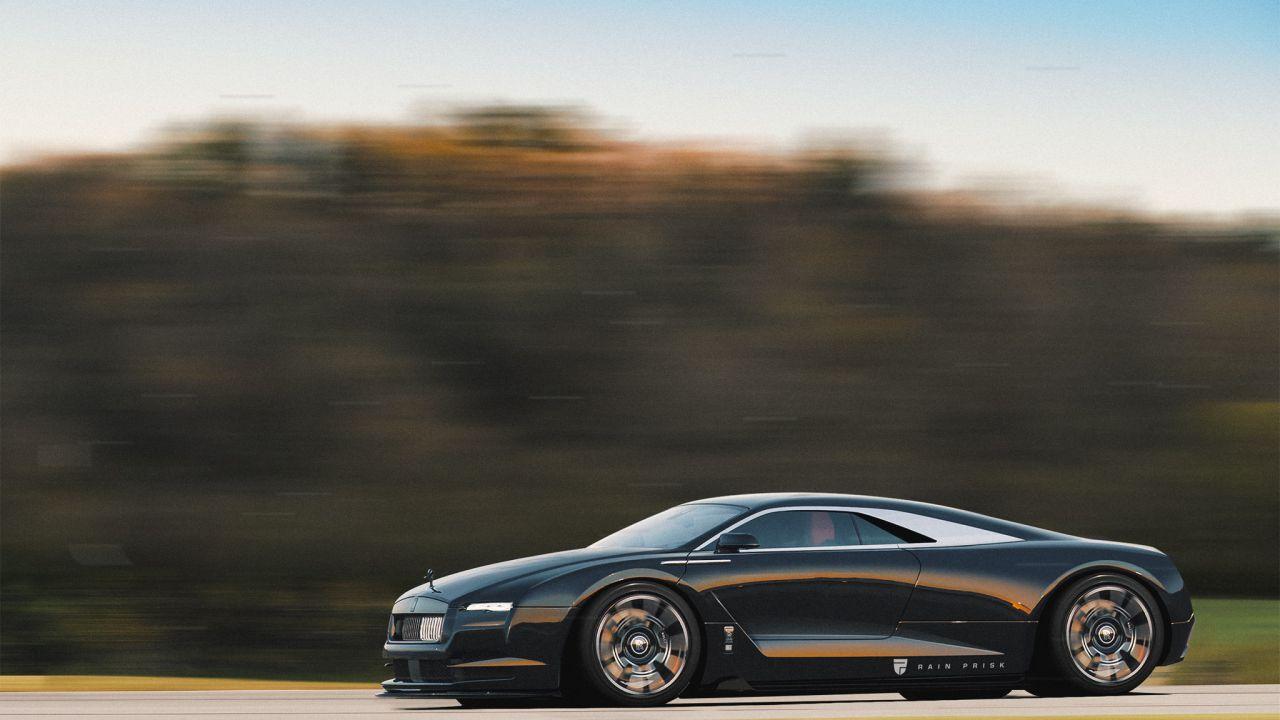 Che aspetto avrebbe una supercar Rolls-Royce a motore centrale? Qualcuno ha la risposta