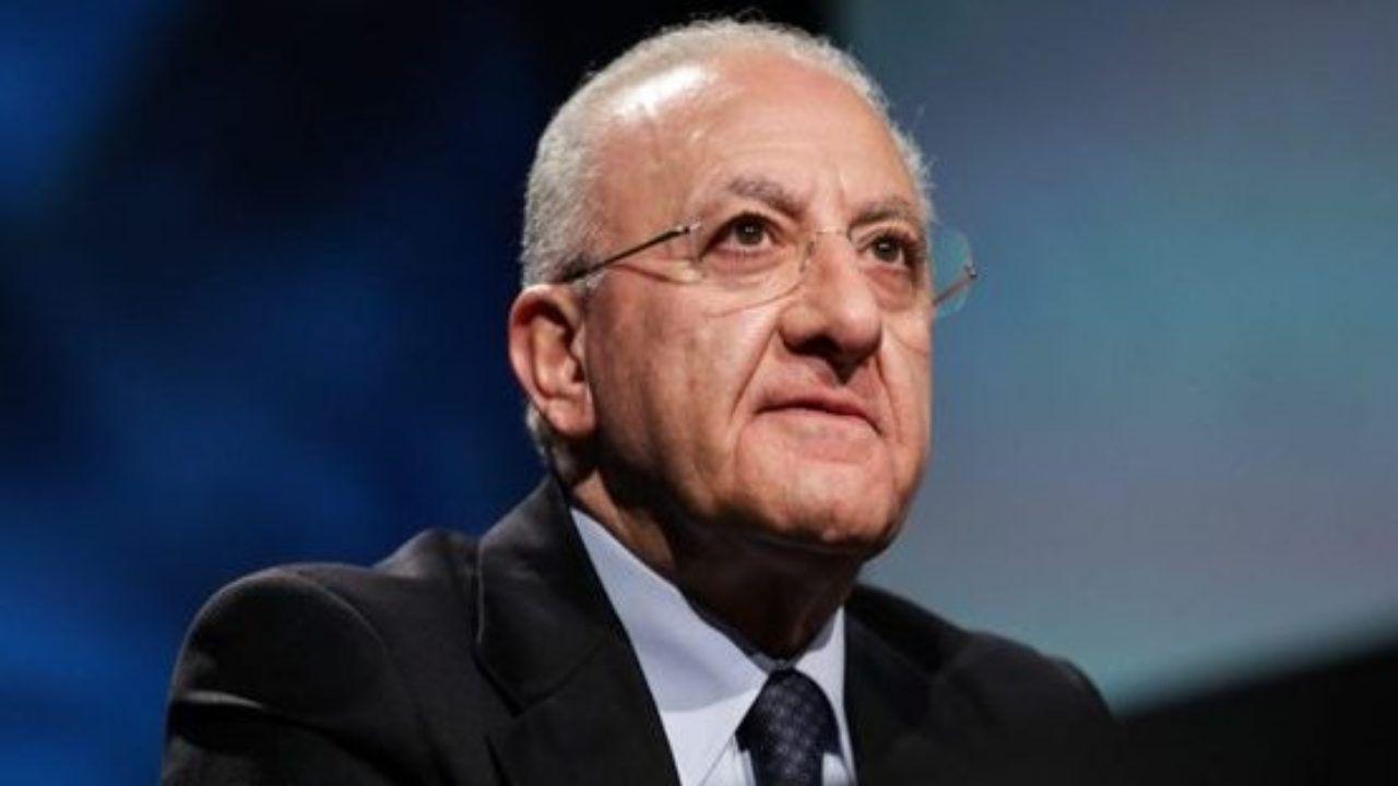 Che tempo che fa, De Luca attacca la Juve: è polemica sul web