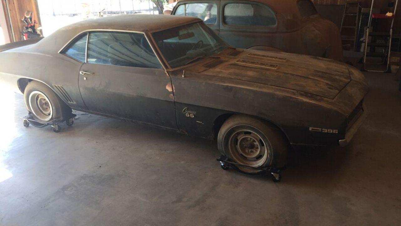 Chevrolet Camaro del '69 è stata ritrovata dopo 40 anni