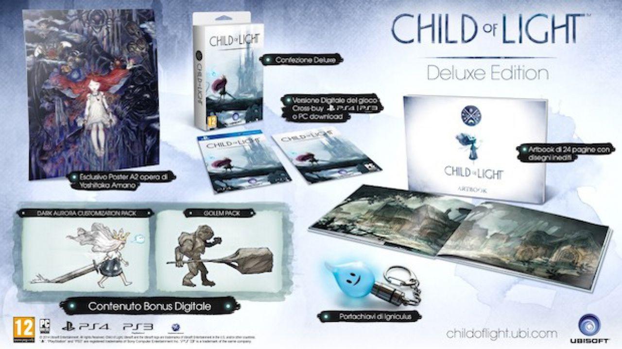 Child of Light: le scelte dei giocatori saranno decisive per il finale