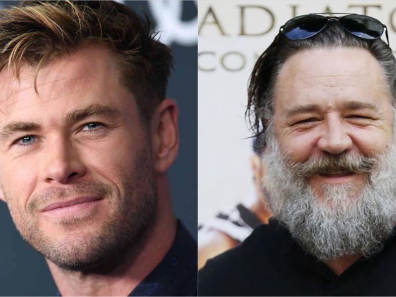 Chris Hemsworth: dopo una pausa da Thor 4, a Sydney spunta anche Russell Crowe