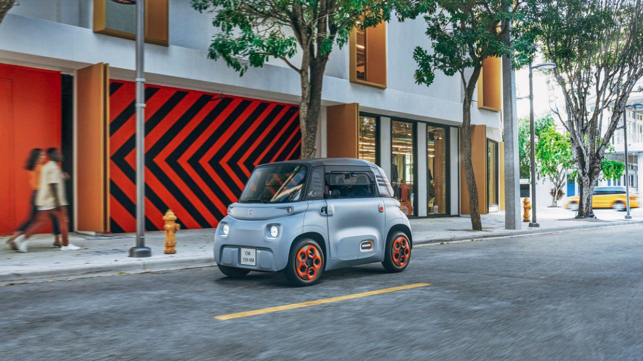Citreon AMI EV: la piccola city car che si guida senza patente per 19.99€ al mese