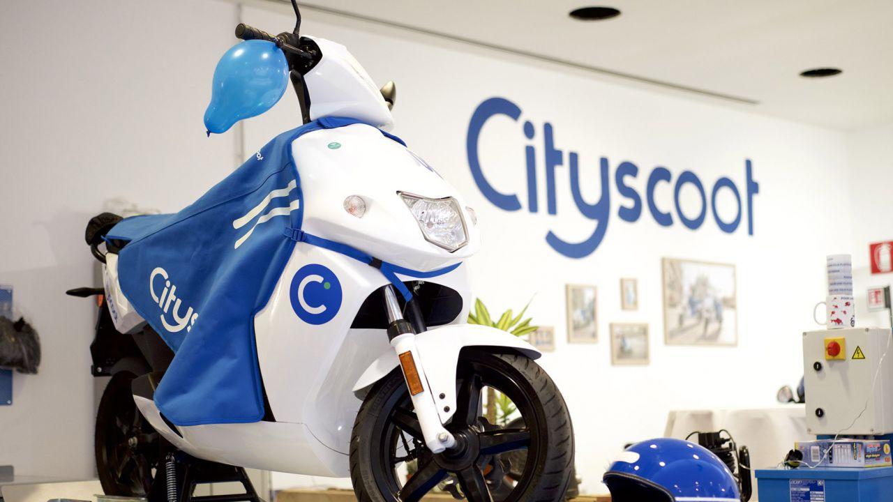 Cityscoot arriva a Milano: 500 scooter elettrici a 0,29€ al minuto