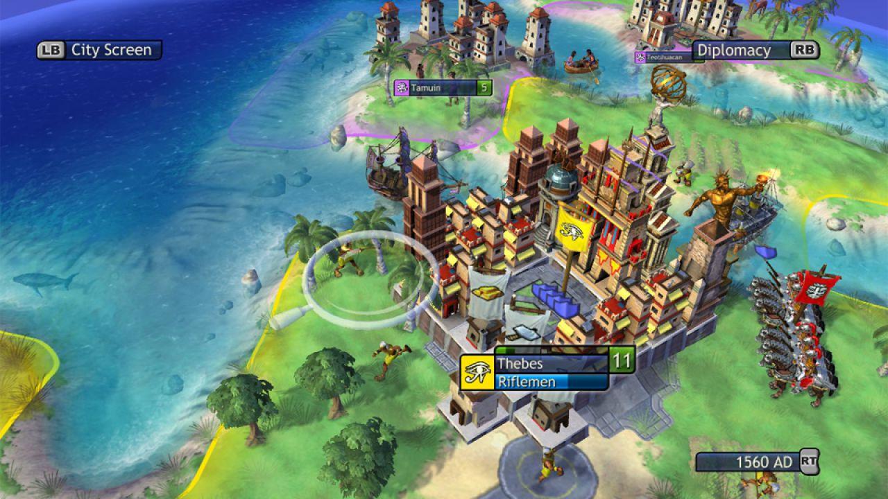 Civilization Revolution disponibile in versione iPad