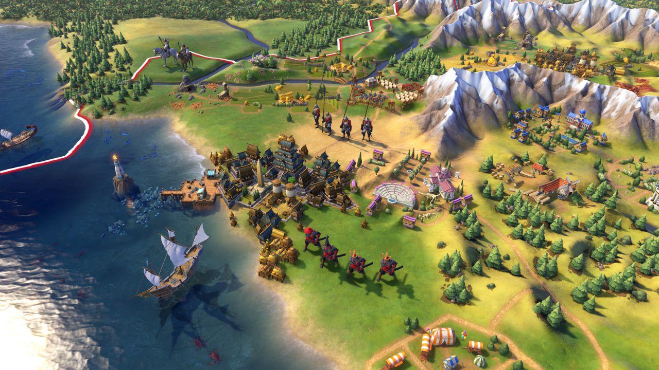 Civilization VI: due minuti di gameplay