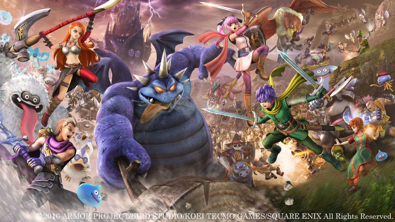 Classifica hardware e software giapponese: Dragon Quest Heroes 2 rimane in vetta