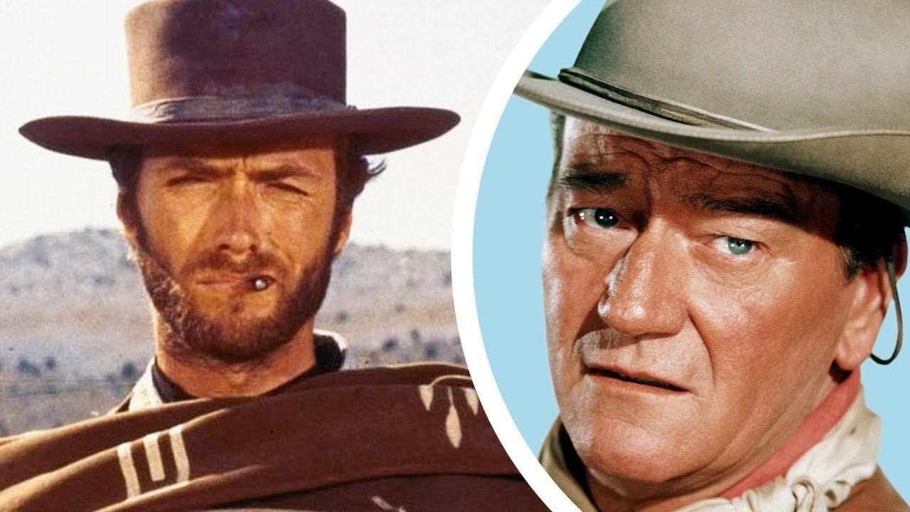 Clint Eastwood: perché John Wayne rifiutò di lavorare con lui in un western?