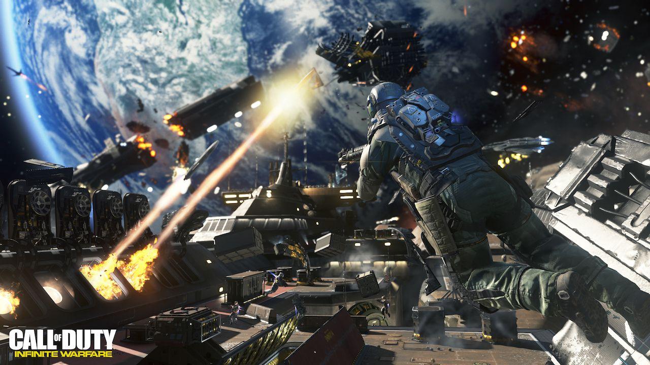 COD Infinite Warfare porta i suoni nello spazio