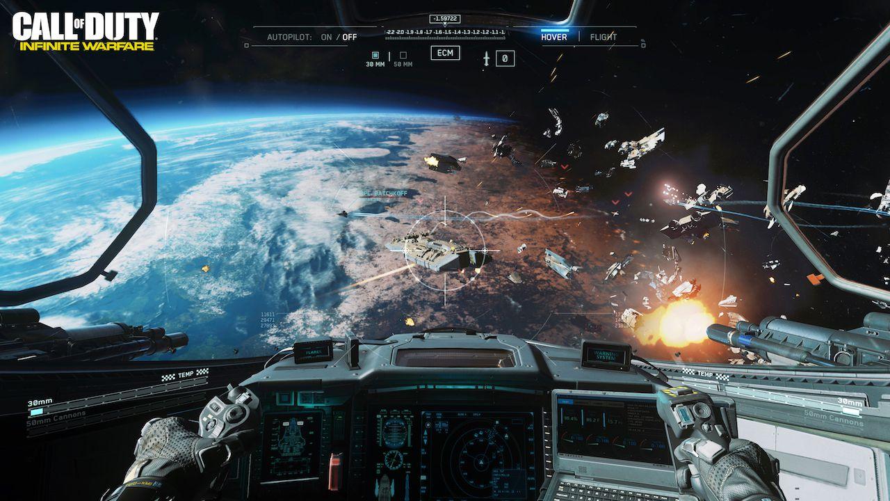 CoD Infinite Warfare sfrutterà al massimo PS4 e Xbox One