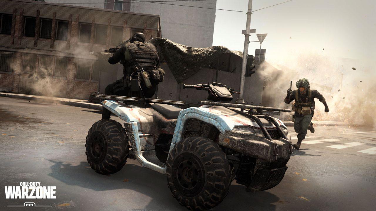 COD Modern Warfare e Warzone: update per le Playlist, ritornano i veicoli