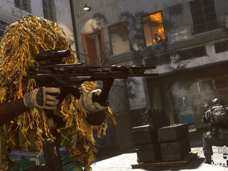 COD Warzone again branded as Pay-to-Win: paid skins make you invisible