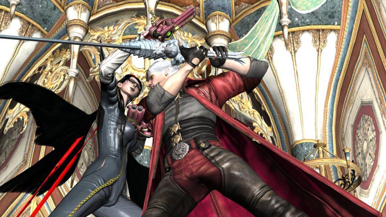 Collaborazione in vista tra Bayonetta e Devil May Cry?