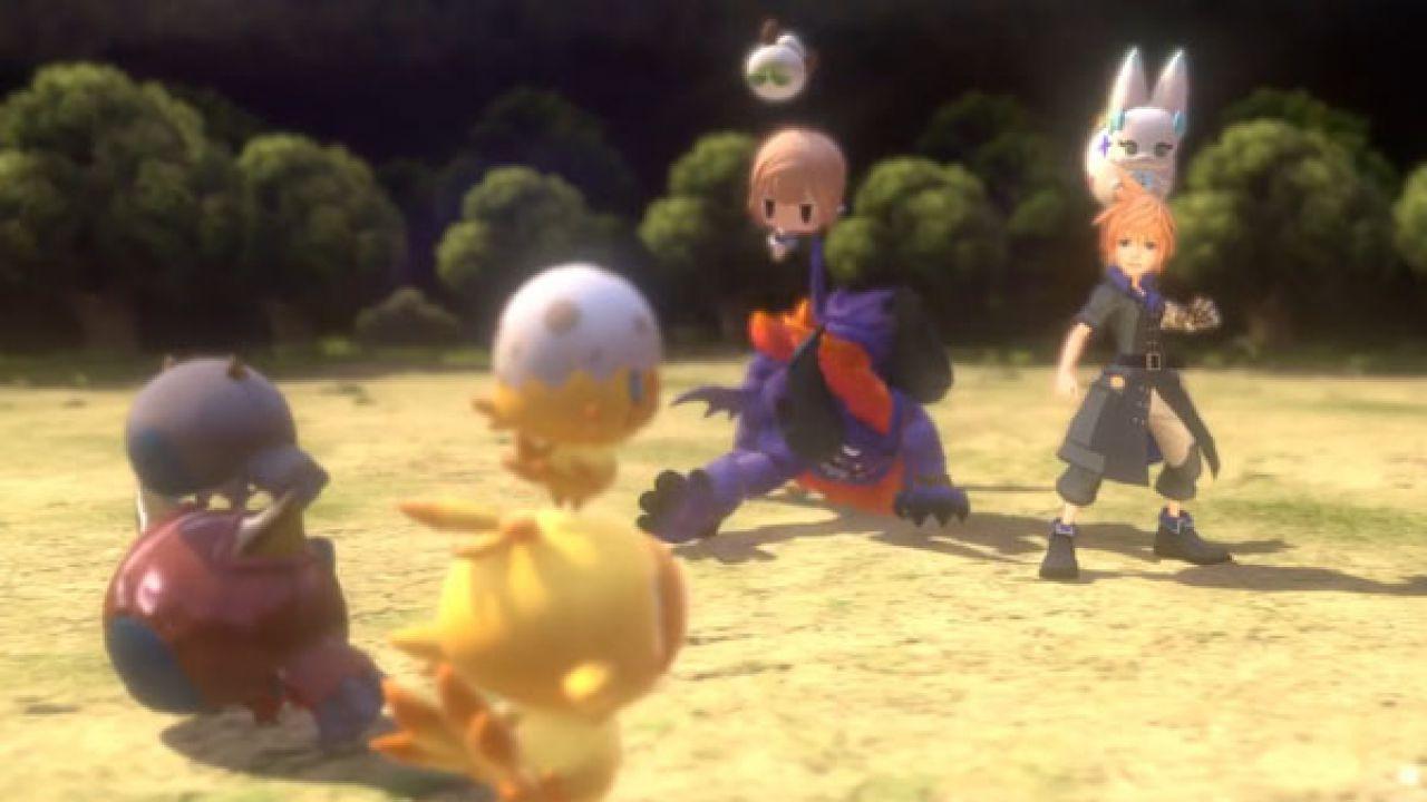 Colleziona, alleva e fai combattere mostri leggendari in World of Final Fantasy