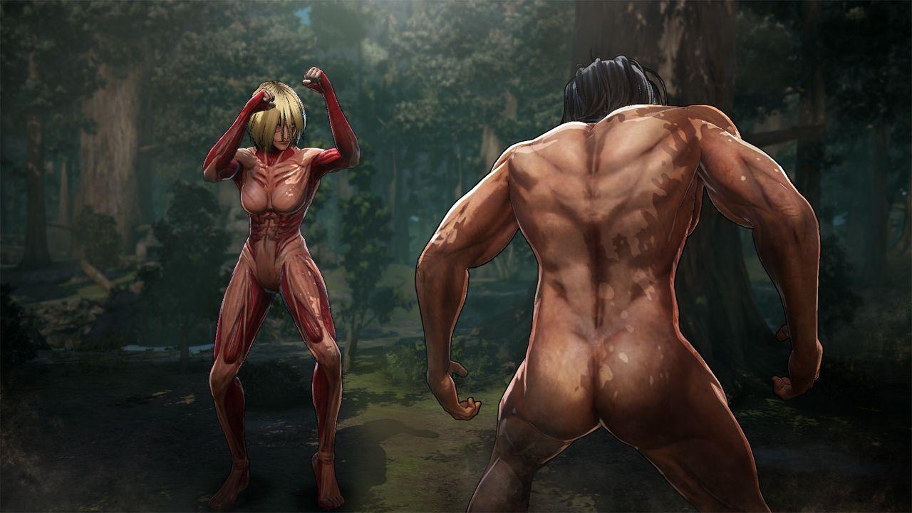 Combattmenti tra giganti nei nuovi scatti di Attack on Titan