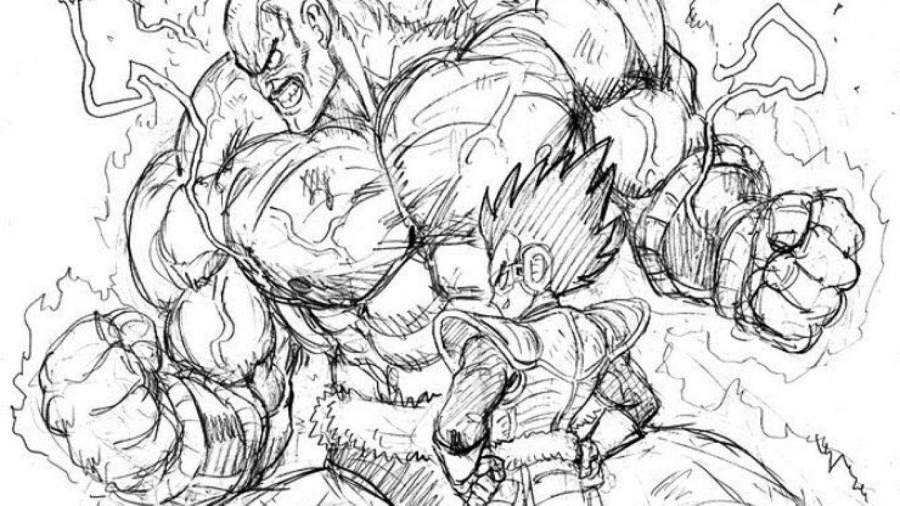Come Sarebbe Dragon Ball Disegnato Dallillustratore Di One Punch