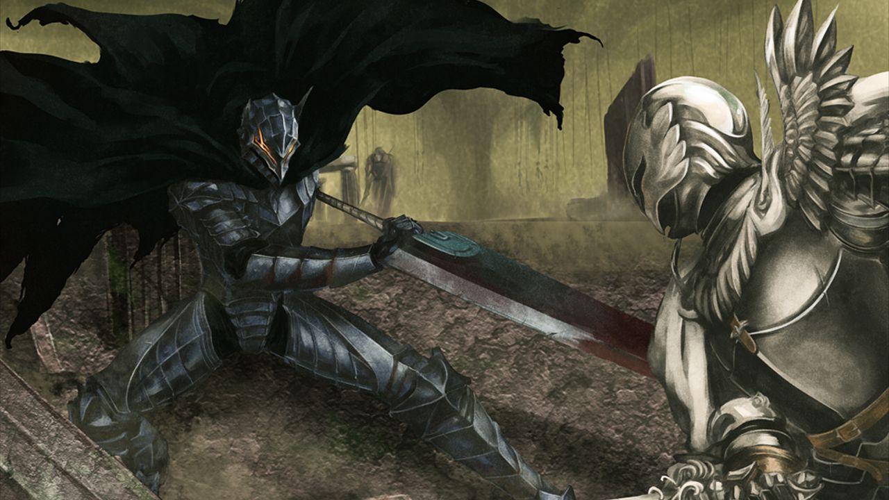 Come finirà Berserk? Una fan art eccezionale ci mostra l'inizio dello scontro finale
