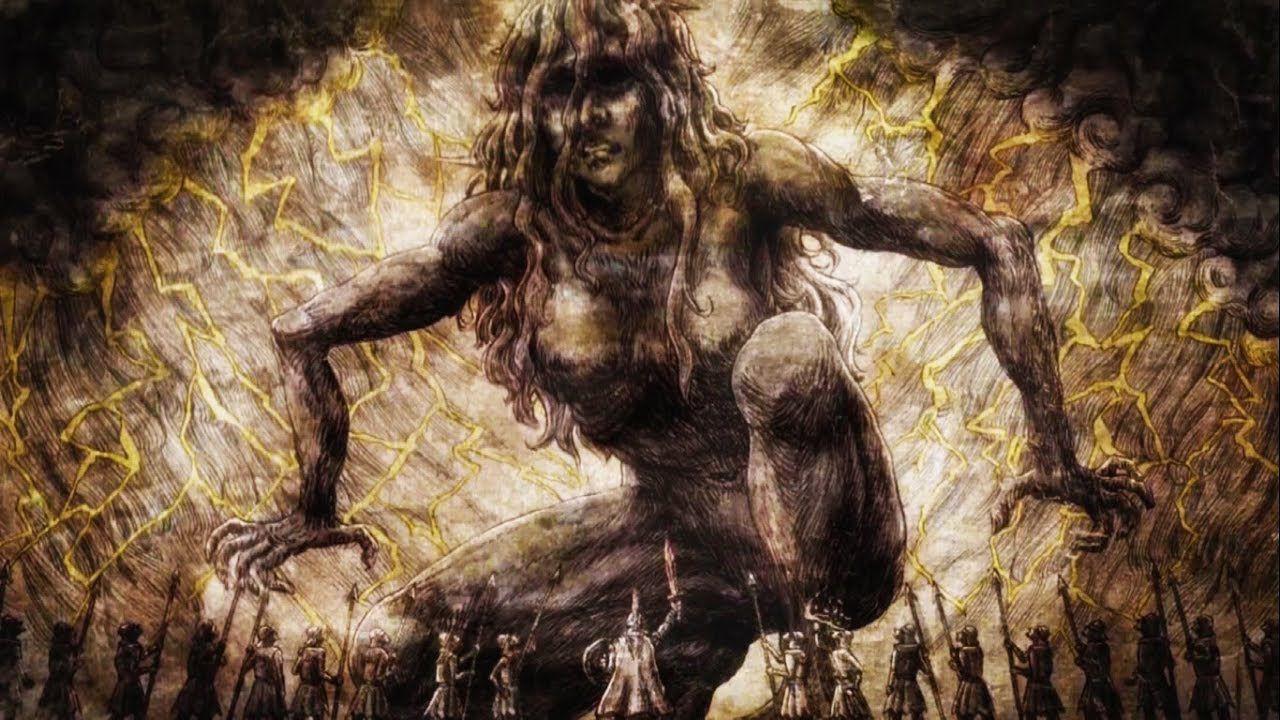 Come sono nati i giganti di Attack on Titan? Le origini spoiler di Ymir